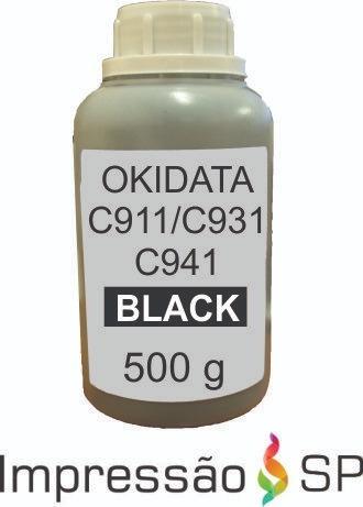 Toner Refil Okidata C911 C931 C941 (500 G)