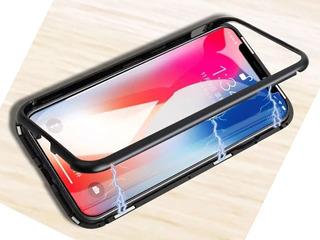 Case Capa Magnetica Preta iPhone X, Xs Novo Armadura Nova