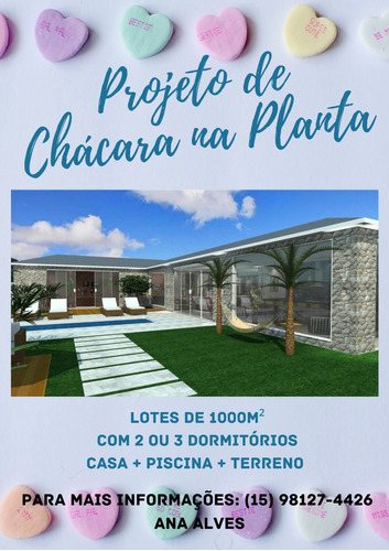 Imagem 1 de 14 de A/a - Projeto De Chácara