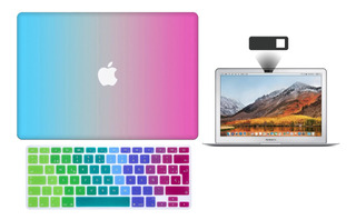 Kit Carcasa Case Premium 3 En 1 Macbook Air Pro Retina Touch