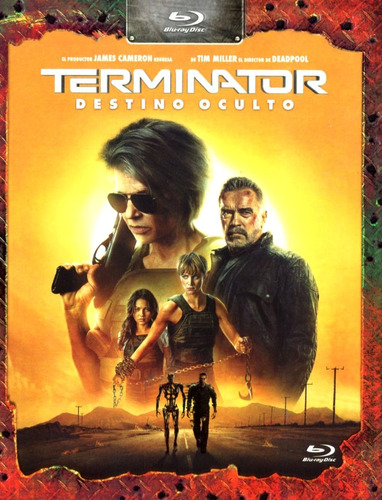 Terminator 6 Destino Oculto Schwarzenegger Pelicula Blu-ray