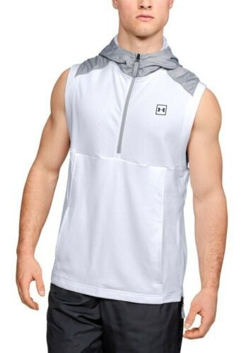 Under Armour Threadborne Microthread Terry Hoodie Sin Mangas Deportivo Hombre Xl Nuevo Y Original
