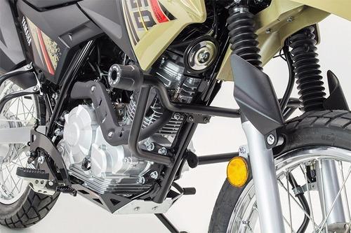 Kit Sliders Negros Variant Yamaha Xtz 150 Fire Parts Calidad