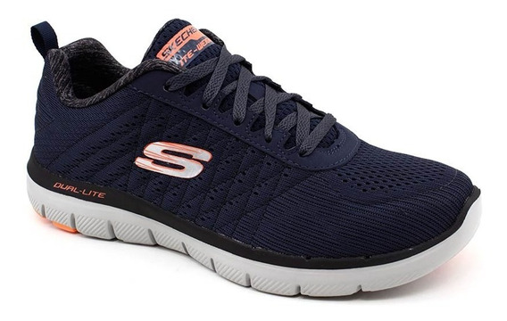 Tênis Skechers Original Flex Advantage 2.0 52185 Azul Navy