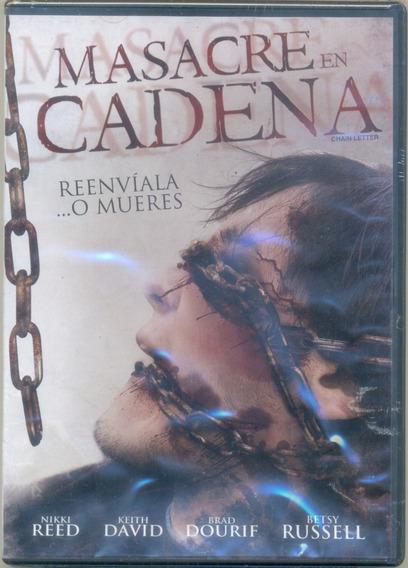 Dvd Película Masacre En Cadena