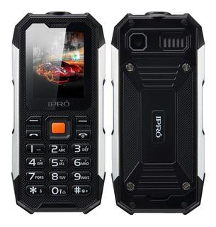 Celular Ipro Shark Dual Sim Resistente Al Agua Y Golpes Mp3