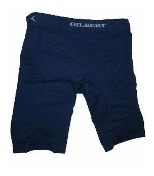Imagen 1 de 2 de Calzas Cortas Compresion Gilbert Hombre Rugby Futbol Running
