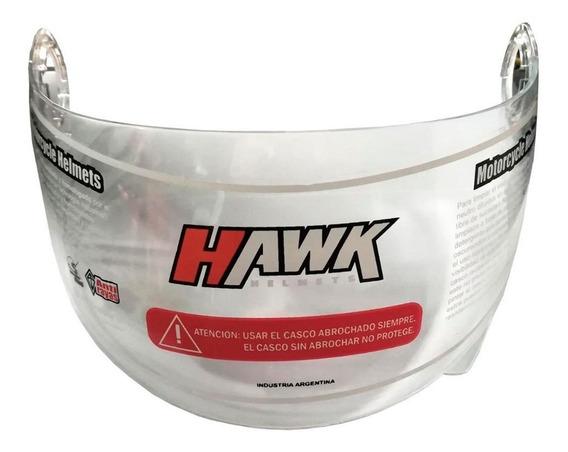 Visor Casco Hawk Rebatible Rs5 Rs11 Cristal Fume - Sti Motos