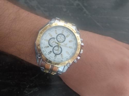 Relógio Esportivo Pulseira De Aço Orlando