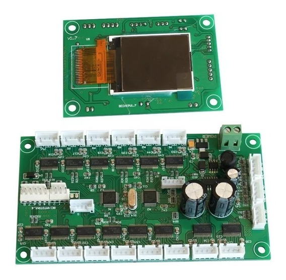 Placa Mãe E Display Moving Beam 5 Ou 7 R