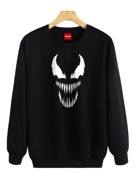 Sudadera Hombre Dama Venom Spiderman Sueter #360