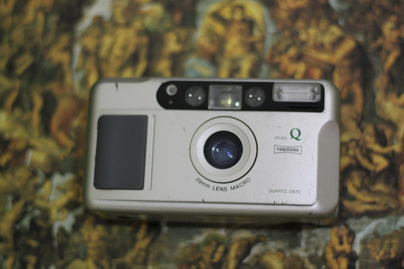 Câmera Analógica [de Filme] Yasiuka Mini Q 29mm Macro