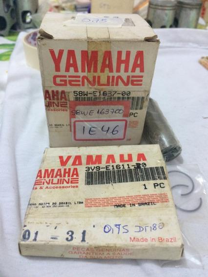 Kit Pistão Medida 0,75mm Dt180 Tdr180 Original Yamaha Dt 180