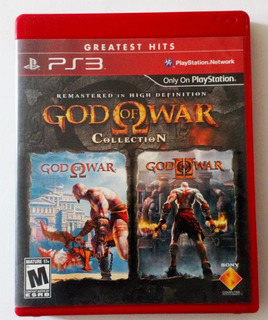 God Of War Collection 1 Y 2 Remaster Ps3 Usado