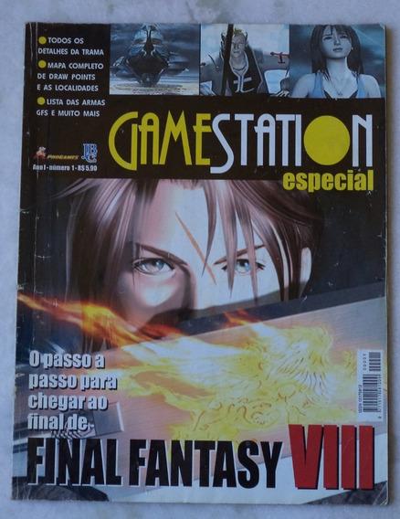 Revista Gamestation Nº 1 Final Fantasy 8 +