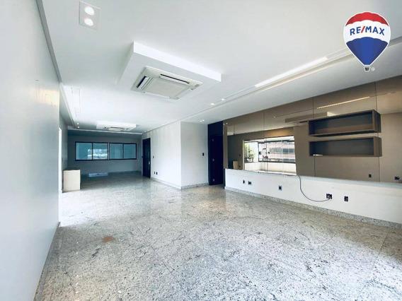 Apartamento Com 4 Dormitórios Ed. Centurion, 300 M² - Umarizal - Belém/pa - Ap0570