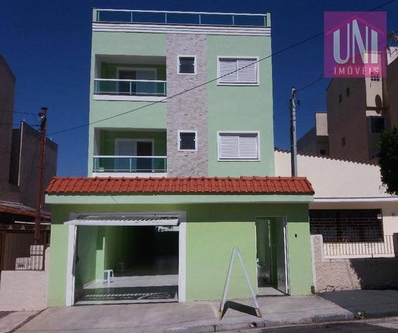 Cobertura Residencial À Venda, Vila Metalúrgica, Santo André. - Co0604