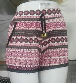 9f7586b64 Short Feminino Barato Malha - Shorts para Feminino Marrom no Mercado ...