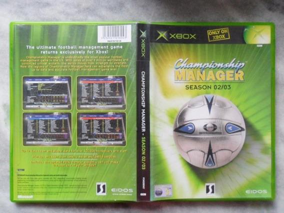 Frete Gratis Championship Manager 02/03 Classico Eur (pal)