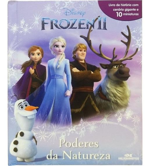 Frozen Ii História C/ Cenário Gigante + 10 Miniaturas