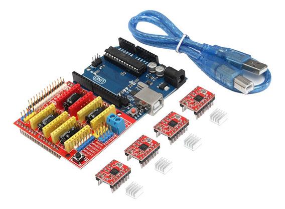 Kit Impressora 3d Para Arduino Mega 2560 R3 + Ramps 1.4 Cont