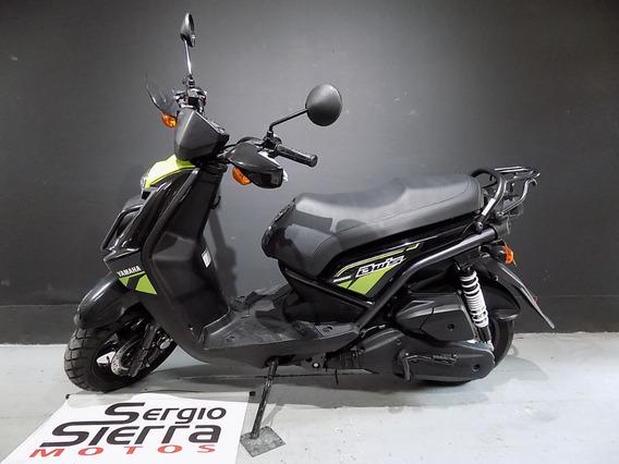 Yamaha Bws125 Negro Verde 2017