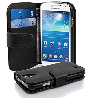 Cadorabo Book Style Wallet Design Para Samsung Galaxy S4 Min