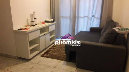 Apartamento À Venda, 54 M² Por R$ 240.000,00 - Jardim Augusta - São José Dos Campos/sp - Ap11023