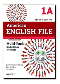 Kit American English File 1a Multi-pack Student + Work Impre