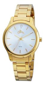 Relógio Allora Flor Da Pele Dourado - Al2035fby/4b