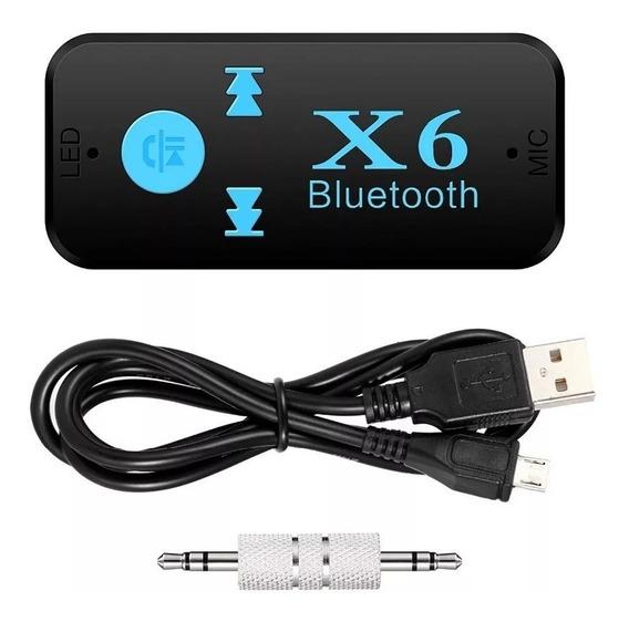 Receptor Bluetooth Microfone Auxiliar Leitor Cartão Sd Carro