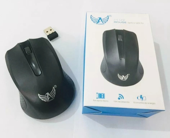 Mouse Optico Wireless Usb Altomex 2.4 Ghz A-6891