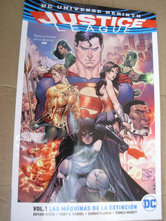 Justice League Vol.1 Maquinas De La Extincion Envio Gratis