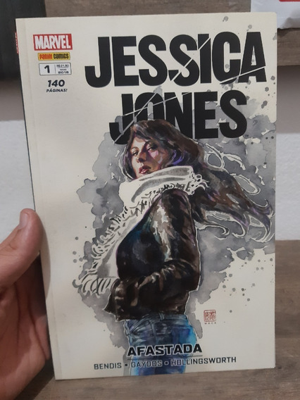Hq Jessica Jones Afastada N°1 (140 Paginas)