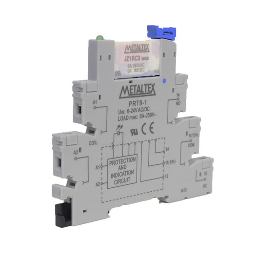 Interface Rele 1 Rev. 24v Prz-1r-24 Metaltex