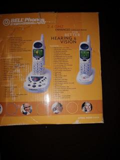 Kit De 2 Telefonos Inalambricos Bell Contestadora