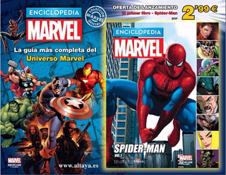 Enciclopedia Marvel Fasiculo 1,guia Completa