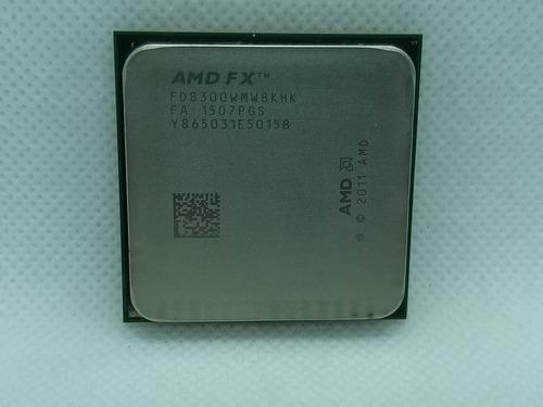 Imagem 1 de 8 de Processador Gamer Amd Fx 8300  8 Núcleos+pasta Térmica