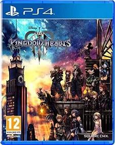 Jogo Kingdom Hearts Iii Playstation 4 Mídia Física Ps