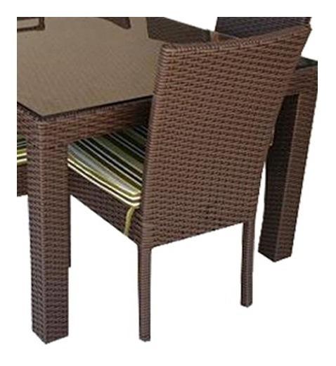 8 Cadeiras Golden Em Alumínio Estofado E Fibra Sintética