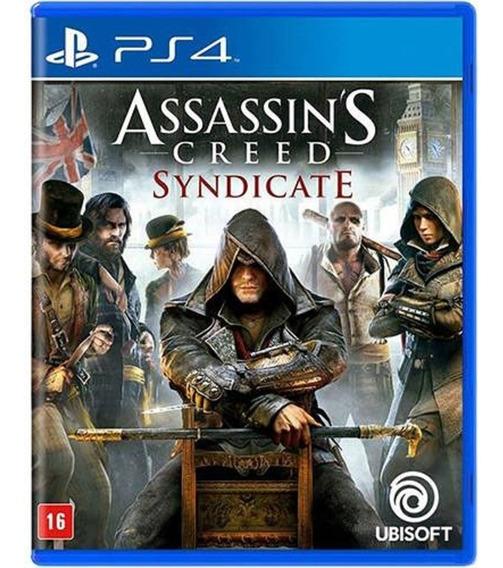 Assassins Creed Syndicate Ps4 Mídia Física Lacrado Em Pt Br