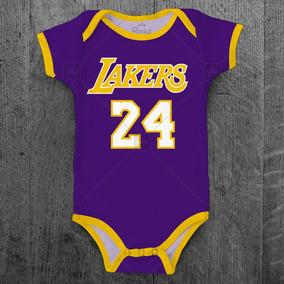 Body Bebê Nba Los Angeles Lakers Basquete Personalizado Nome