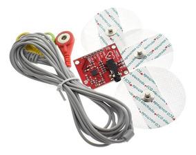 Módulo Kit Sensor Ad8232 Ecg Batimento Cardíaco Arduino