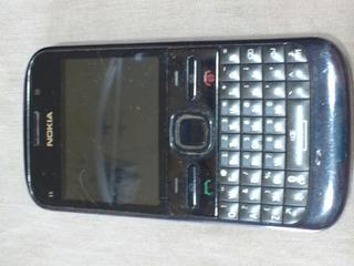 Cel Nokia Mod E5-00 Com Tampa De Metal Cel Top