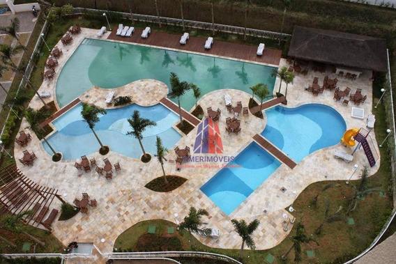 Apartamento Com 3 Dormitórios À Venda, 70 M² Por R$ 270.000 - Residencial Side Club - Vila Santa Catarina - Americana/sp - Ap0736
