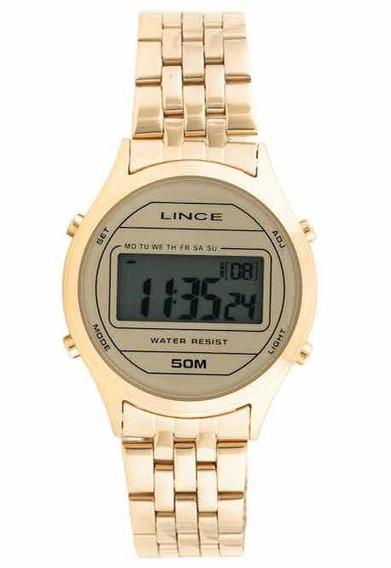 Relógio Lince Feminino Digital Retrô Vintage Sdph020l Bxkx