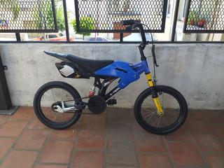 Bicicleta Xterra Motobike Rodado 16 Lista Para Usar Tipomoto