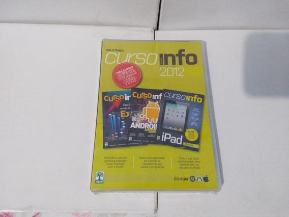 Dvd - Coletânea Curso Info 2012 ( Exame
