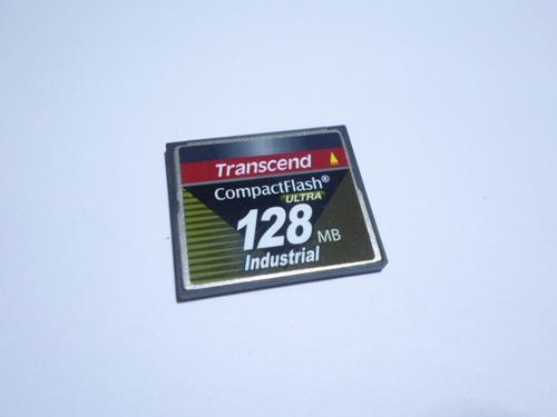 Cartão Compact Flash Ultra Transcend 128mb Industrial