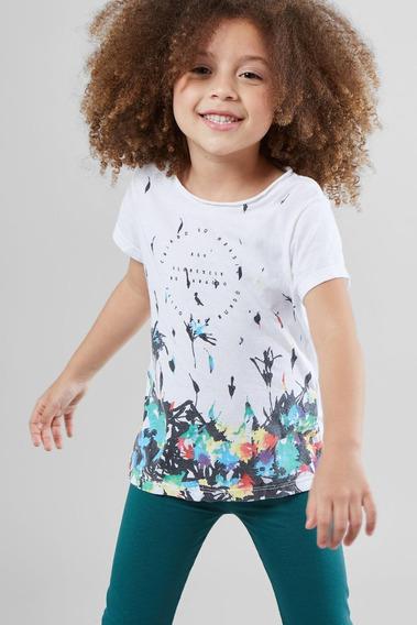 Camiseta Chuva De Flores Reserva Mini